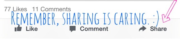 sharing is caringlogo